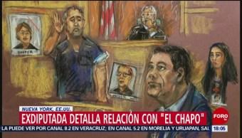 Exdiputada mexicana narra su relación sentimental 'El Chapo' Guzmán