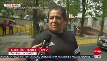 Familiares de heridos de Hidalgo llegan a hospitales