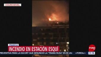 Incendio en estación de esquí en Francia deja al menos dos muertos