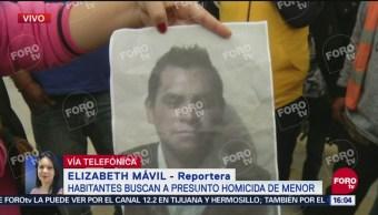 Difunden foto de homicida de menor en Valle de Chalco