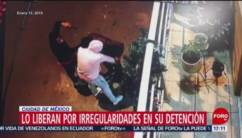 Liberan a ladrón detenido por supuestas irregularidades