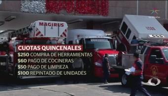 Líder sindical de bomberos enfrenta más de 130 demandas por diversos delitos