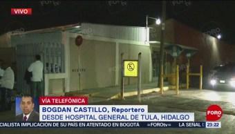 Llegan Heridos Explosión Tlahuelilpan Hospital General Tula