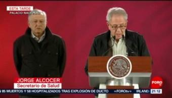 Lo más relevante de la conferencia sobre explosión en Hidalgo