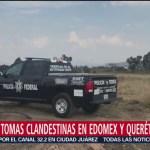 Localizan cuatro tomas clandestinas en Edomex y Querétaro