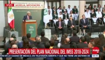 López Obrador presenta plan 2018-2024 para el IMSS, presidente, Andrés Manuel López Obrador, plan 2018-2024 para el IMSS, IMSS, Michoacán, Instituto Mexicano Del Seguro Social