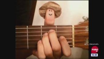 #LoQueVimosEnLaRed: Música a cargo del señor dedo