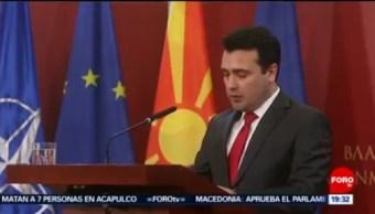 Macedonia Confía En Unirse Pronto A La Otan, Macedonia, Unirse Pronto A La Otan, Primer Ministro De Macedonia, Zoran Zaev, Otan