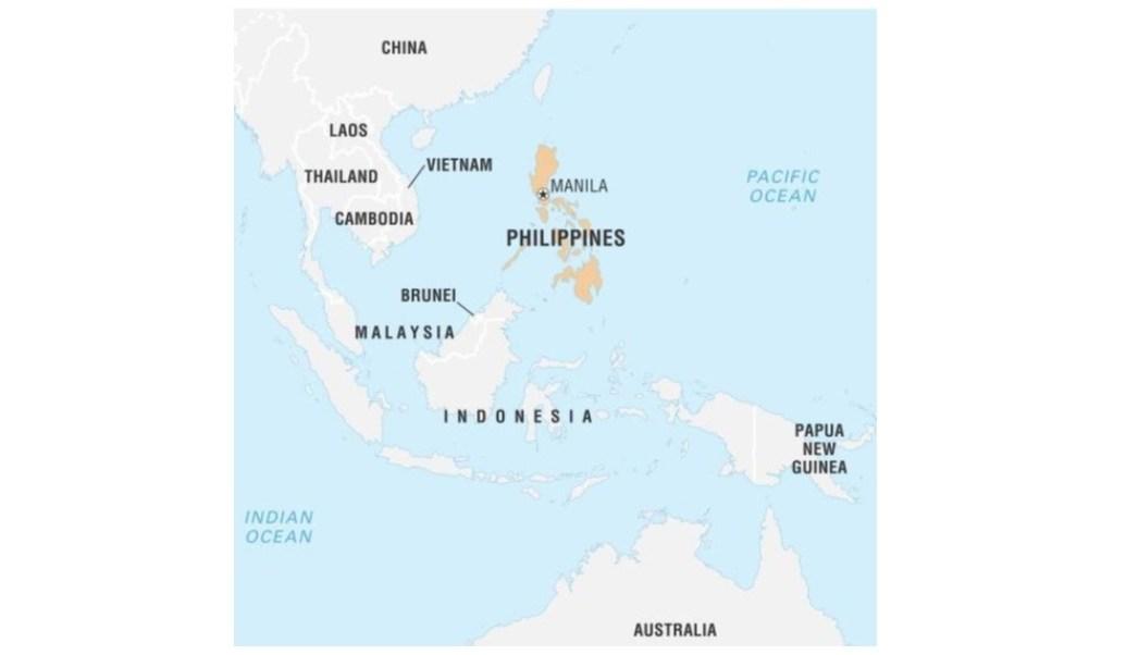 Filipinas: Sismo de magnitud 5.9 sacude isla de Mindanao