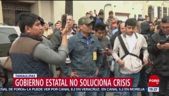 FOTO: Maquiladoras De Matamoros Levantan Paro, Maquiladoras, Matamoros, Levantan Paro, Tamaulipas, 13 De Las 45 Empresas Maquiladoras, 26 enero 2019
