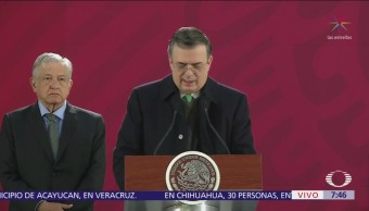 Marcelo Ebrard: México mantendrá postura de no intervención en Venezuela