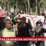 Foto: Marchan Zócalo Favor Estrategia Huachicol Amlo 28 de Enero 2019