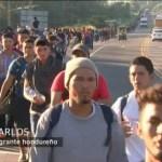 Migrantes Centroamericanos Ingresan A México Portazo