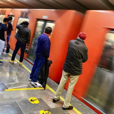 Policías del metro evitan que agentes de la PGJ detengan a grupo delincuencial