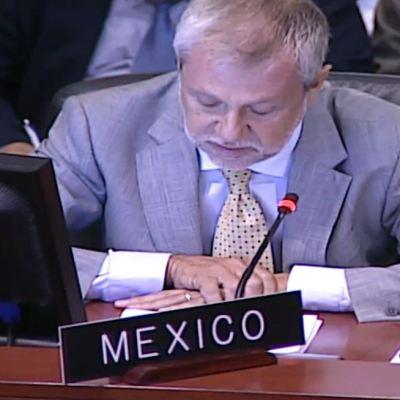 México pide a Luis Almagro aclarar la situación de Venezuela en la OEA