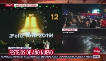 México recibe con celebración el 2019