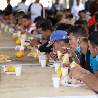 "Arriban mil 100 migrantes al Jesús Martínez ""Palillo"""