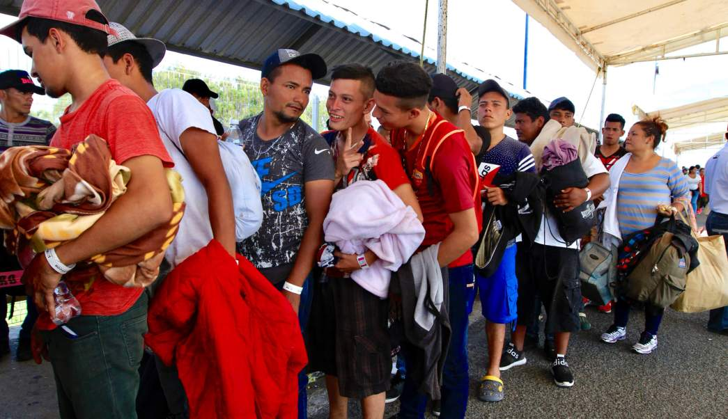 Nueva Caravana Migrante salde de Chiapas rumbo a Oaxaca