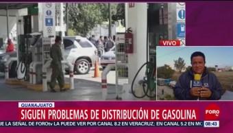 Miles de afectados por falta de combustible en Guanajuato