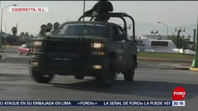 Militares Resguardan Refinería En Cadereyta Nuevo León