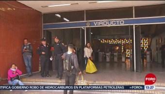 Muere hombre tras caer a las vías del Metro CDMX