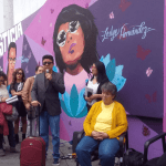 Mural en UACM Centro Histórico recuerda víctimas de feminicidio