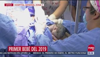 Nace en la CDMX el primer bebé de 2019