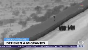 Niña de 3 años cae tras cruzar muro en Arizona