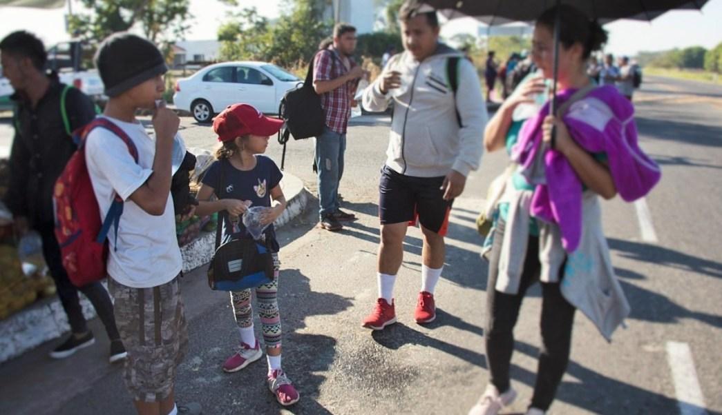 Unicef pide prioridad niños viajan nueva caravana migrante
