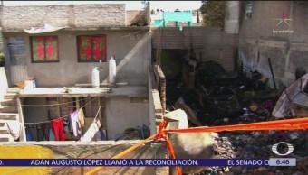 Niños muertos en incendio de Iztapalapa estaban siempre solos