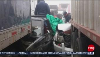 Ocho muertos deja accidente automovilístico en la autopista Veracruz-Puebla