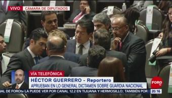 Pan Defiende Guardia Nacional Militariza Al País