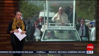 Foto, 26 enero 2019, Papa Francisco participa en encuentro con jóvenes en Panamá