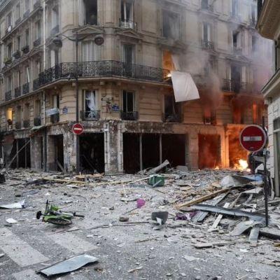 Fuerte explosión en panadería de París deja varios heridos