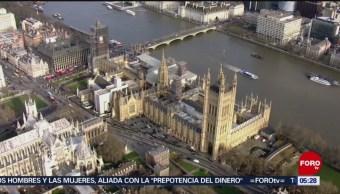 Parlamento británico vota por el Brexit