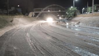 Asfalto cristalizado cierran calles Ciudad Juárez