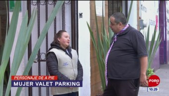Personaje de a pie: Mujer valet parking