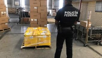 Decomisan en Guadalajara metanfetamina camuflada de jengibre, procedente de Colombia