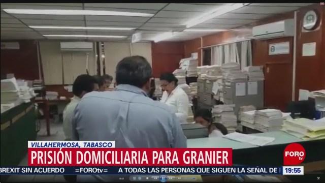 Prisión Domiciliaria Exgobernador Andrés Granier Tabasco