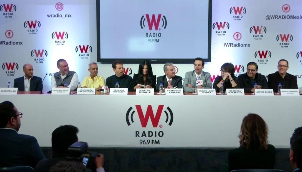 W Radio da a conocer su nueva barra de programación
