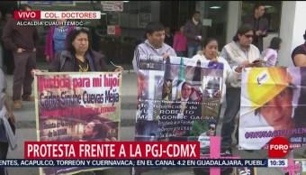 Protestan familiares de estudiante del IPN asesinada hace 3 años