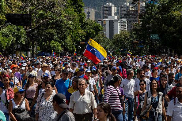 Foto: Miles de personas se manifiestan en Caracas, 23 de enero 2019