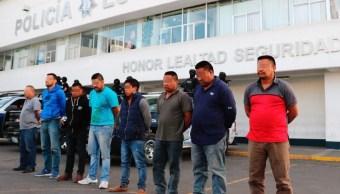 Rescatan a 159 centroamericanos secuestrados en Puebla; hay ocho detenidos