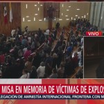 Foto: Misa Memoria Víctimas Tlahuelilpan 25 de Enero 2019
