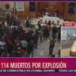 Foto, 26 enero 2019, Realizan misa en memoria de víctimas de Tlahuelilpan