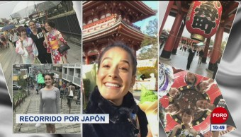 Recorriendo Japón con Gina Holguín