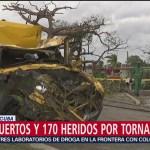 Foto: Reportan tres muertos y 179 heridos por tornado en La Habana