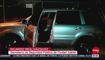 Rescatan a víctimas de secuestro en Ciudad Juárez, Chihuahua