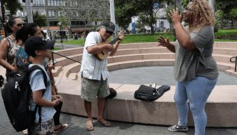 Canción de migrante se convierte en himno para venezolanos