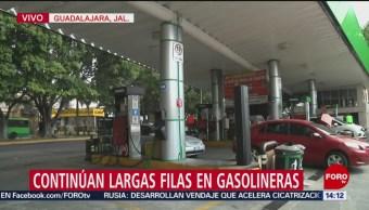 Roban contenedor de 60 mil litros de gasolina en Jalisco